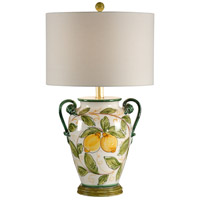 Wildwood Lamps Limoni Table Lamp in Hand Decorated Fired Ceramic 17705