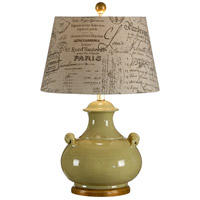 Italia 26 inch 100 watt Hand Made And Decorated Table Lamp Portable Light