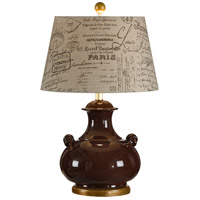 Wildwood Lamps Niccolo Table Lamp in Florentine Ceramic 17709-2