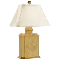 Wildwood Lamps Cannister Table Lamp in Dark Antique Patina Cast Brass 2022