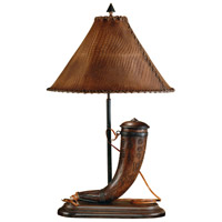 High Country 31 inch 0 watt Wood Table Lamp Portable Light