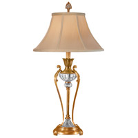 Wildwood Lamps Crystal Urn Table Lamp in Brass 2105