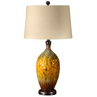 Wildwood Lamps What Is It Table Lamp in Hand Painted Lacquer On Porcelain 21152