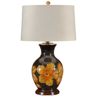 Wildwood Lamps Big Flower Table Lamp in Hand Painted Porcelain 21157