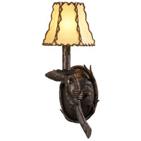 Wildwood Lamps Signature Sconce in Iron With Old Bronze Finish 21198