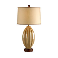 Wildwood Lamps High Country Hand Made And Glazed Creases Galor Lamp - Walnut Finished Mounting 21233