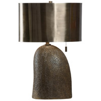Wildwood 21249 Rustic Modern 26 inch 60 watt Aged Bronze and Brushed Bronze Table Lamp Portable Light
