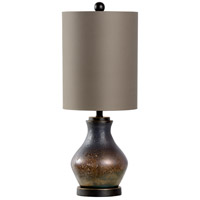 Stoneridge 28 inch 100 watt Textured Bronze and Bronze Table Lamp Portable Light