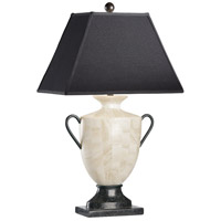 Wildwood Lamps Crystal Stone Urn Table Lamp in Inlaid Quarry Stone 22004