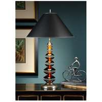 Wildwood Lamps Graduated Amber Table Lamp in Amber Crystal 22045