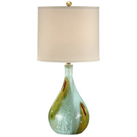 Wildwood Lamps Art Glaze Bottle Table Lamp in Hand Colored Ceramic 22187