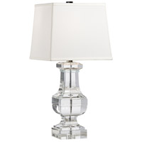 Wildwood Lamps Square Crystal Urn Table Lamp in Cast Crystal 22233