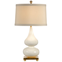 Wildwood Lamps Pinched Vase Table Lamp in Old Gold Leaf Finished Mounting 22280