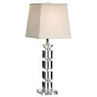 Wildwood Lamps Blocks In Crystal Table Lamp in Cast Crystal 22302