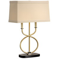 Wildwood Lamps Intertwined Candles Table Lamp in Hand Finished 22333
