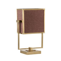 Wildwood Lamps Signature 2 Light Adjustable Accent Light Table Lamp in Antique Brass 22377