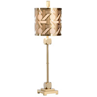 Wildwood 22421 Transitional 35 inch 100 watt Metal With Brass Table Lamp Portable Light