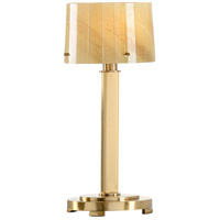 Transitional 18 inch 40 watt Antiqued Brass Table Lamp Portable Light