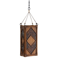 Wildwood Lamps Bamboo Panel Lantern Hanging Lantern 23168 photo thumbnail