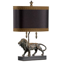 Lioncrest 24 inch 60 watt Composite and Marble Table Lamp Portable Light