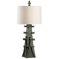 Wildwood 23353 Summit 39 inch 100 watt Verde Table Lamp Portable Light