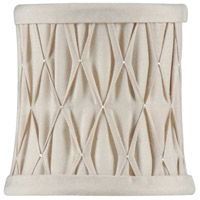 WM Of Pleats) Empire With Flame Clip Chandelier Shade