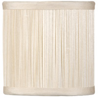 WM Pleat Empire With Flame Clip Chandelier Shade