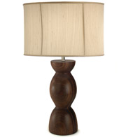 Transitional 32 inch 100 watt Table Lamp Portable Light