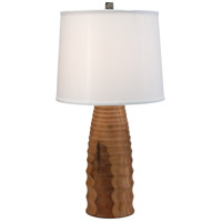 Wildwood Lamps The Aubrey Table Lamp in Hand Turned Wood 25053