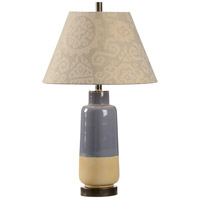 Grey 100 watt Grey and Matte Sahairi Bronze Table Lamp Portable Light