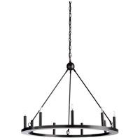Wildwood 25529 Florentine 9 Light 36 inch Dark Bronze Chandelier Ceiling Light