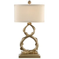 Wildwood Lamps Dahl (Platinum) Table Lamp in Antique Platinum Finish 26001
