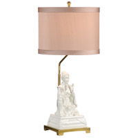 Studio W 26 inch 100 watt Hand Glazed Gardenia Glaze Table Lamp Portable Light