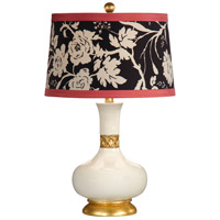 Wildwood Lamps Mimi (Gardenia) Table Lamp in Hand Decorated Porcelain 26006-2