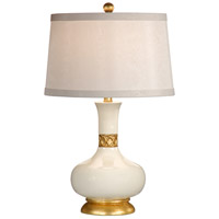 Wildwood Lamps Mimi (Gardenia) Table Lamp in Hand Decorated Porcelain 26006