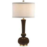 Wildwood Lamps Astrid (Expresso) Table Lamp in Painted Expresso On Fired Ceramic 26017