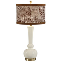 Wildwood Lamps Astrid Table Lamp in Designer Color On Composite Body 26019-2