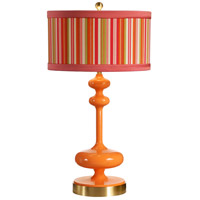 Wildwood Lamps Mirabella Table Lamp in Orange Slice 26025-2