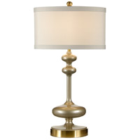Wildwood Lamps 26030 Studio W 30 inch 100 watt Shimmering Bronze Table Lamp Portable Light