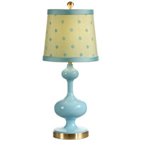 Wildwood Lamps Chloe Table Lamp in Surf 26032-2