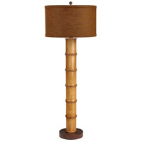 Wildwood Lamps Bali Table Lamp in Hand Turned Wood 26051-2