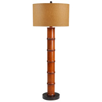 Wildwood Lamps Bali Table Lamp in Hand Turned Wood 26052-2
