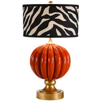 Wildwood Lamps Pia Table Lamp in Designer Color On Composite-Lava 26062-2 photo thumbnail