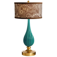 Wildwood Lamps Milan Table Lamp in Designer Color On Composite-Azure 26066-2