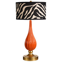 Wildwood Lamps Milan Table Lamp in Designer Color On Composite-Lava 26067-2