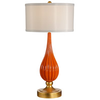 Wildwood Lamps Milan Table Lamp in Designer Color On Composite-Lava 26067