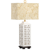 Gardenia White Studio w Table Lamps