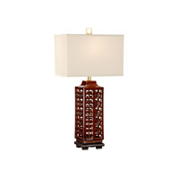 Studio W 100 watt Hand Glazed Ceramic Table Lamp Portable Light