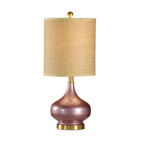 Wildwood Lamps Studio W 1 Light Martine Table Lamp in Lily 26110-2 photo thumbnail