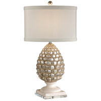 Wildwood Lamps Pigna Table Lamp in Antique Silver 27500 photo thumbnail